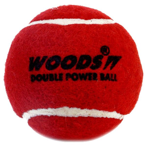 WOODS - Heavy Tennis - Cricket Ball ( Pack of 6 )
