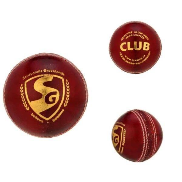 SG – CLUB Cricket Ball (RED)