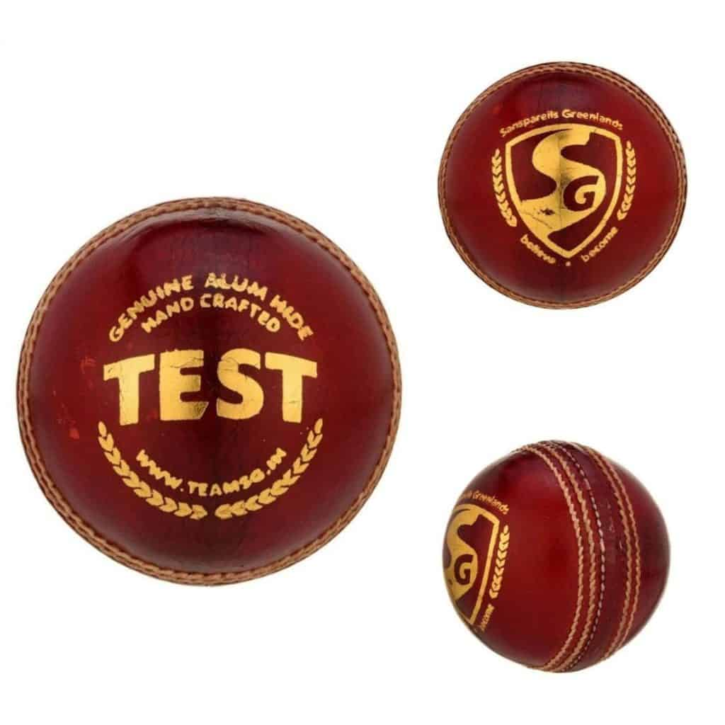 SG Test Cricket Ball - Superior Leather
